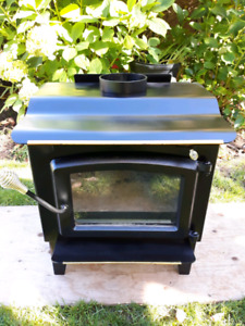 Hershey-Warnock Certified Air Tight Wood Stove with blower