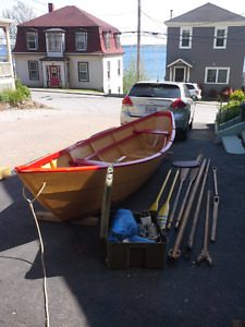 Dory / sail boat  for sale