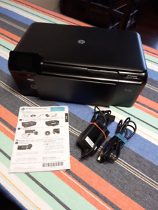 Wireless HP Photosmart D110 All In One Printer