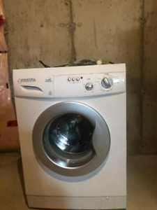 Washer/dryer all in one.