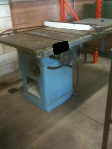 """TABLE SAW, 10"""" BLADE LARGE TABLE, 208/1/60 ELECTRICS"""