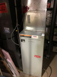 Complete Residential HVAC System - furnace, A/C, hot water