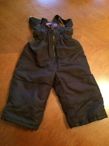 Snow pants size 1 (12 months)