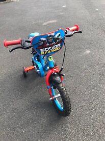 Thomas the tank engine bike