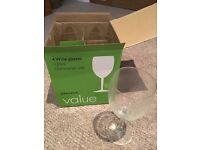 Wine Glasses (4) - unused