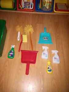 Play Cleaning lot