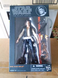 STAR WARS THE BLACK SERIES HAN SOLO ACTION FIGURE