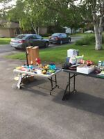 2 family yard sale