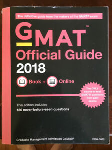Official 2018 GMAT Prep Guide