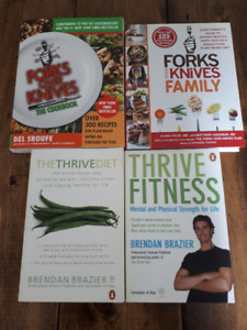 Vegan/Vegetarian Books (Health, Fitness, Cookbooks)