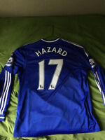 EDEN HAZARD 13/14 CHELSEA FOOTBALL/SOCCER JERSEY OFFICIAL