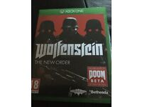 Xbox one. Wolfenstein. The new order.