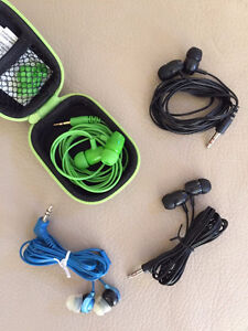 4 SETS OF EAR BUDS!! - PERFECT FOR THOSE WHO MAY LOSE EM!!
