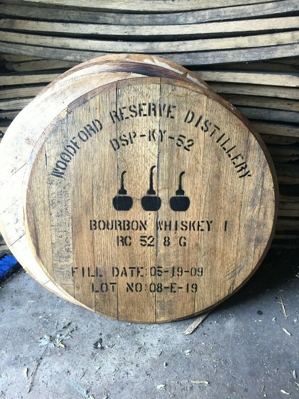 Woodford Reserve Bourbon Whiskey Barrel Top