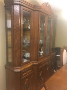 Solid wood buffet for $200