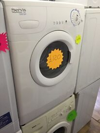 *****Servis 6kg 1500spin washing machine*****£15 Off***Free Delivery*Fitting*Removal
