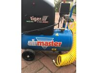 Air compressor Air Master Turbo Oil Free 6 month old