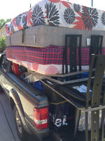 Moving with a pick up truck $40/hour