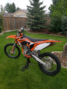 2015 KTM 350 SXF, NEVER RACED, One Owner, $4200 in Upgrades