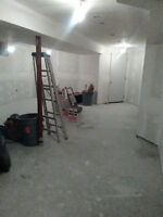 professional drywall finishing services