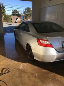 2007 Honda civic -( 5 speed)