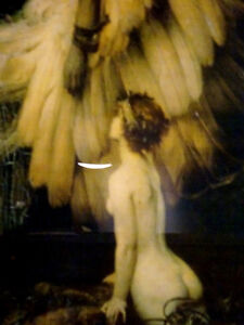 LAMENT FOR ICARUS Herbert Draper PRINT FRAMED nymphs MYTHICAL Cambridge Kitchener Area image 4