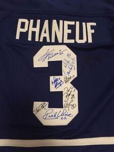 Autographed NHL Leaf Hockey Woman's Jersey Medium