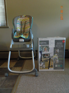 Ingenuity 3 in 1 high chair.  Excellent condition!