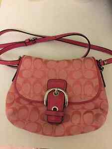 Perfect Condition Pink Coach Bag