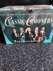 Box of 20 CD Collection Classic Crooners