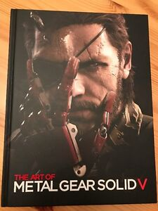The Art of Metal Gear Solid V edition collection tres rare
