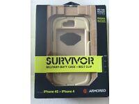 iPhone 4s Griffin Survivor Case New