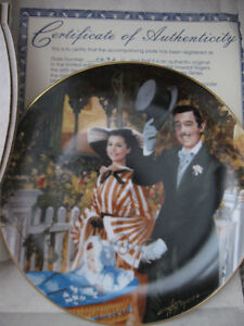 Vintage Gone With The Wind Collectible Plates Prince George British Columbia image 3