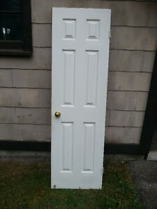 colonial wood door 24 x 80