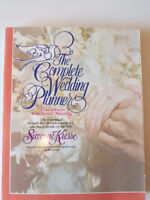 Complete Wedding Planner. Month bymonth guide for busy bride $10