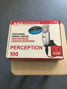 AKG Perception large diaphram condenser mic
