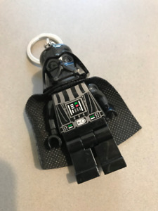 Lego Darth Vader Star Wars Porte Clé Keychain Flashlight