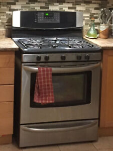 "Kenmore Elite Gas Stove/oven-30""+ Allure Range-Hood stainless"