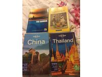 Travel guides £3 each