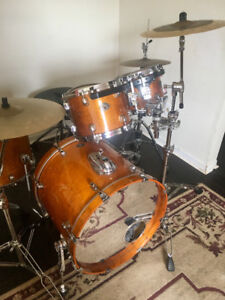 Tama Maple 5 Piece Star Classic Kit with Cymbals and more
