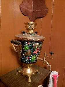 Russian Rooster Electric Samovar Teapot