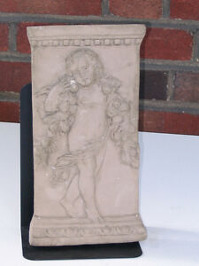 Cast French 18th Century Bas Relief Depicting a Draped Cherub Peterborough Peterborough Area image 3