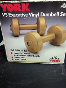 2-2.5lbs Vinyl Dumbbell set