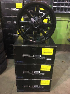 Limited Edition Fuel Maverick Stealth Alloy Truck Rims !!!