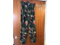 Selection of women's Trousers/Skirts