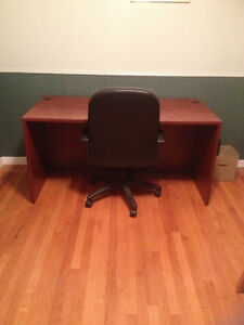 Desks and chair