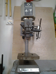 Press drill / perceuse à colonne de marque  Rockwell Beaver