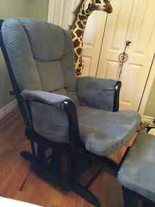 Glider with footrest - great condition
