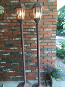 Vintage Patio Lamps