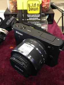 Nikon 1 J1 10.1 MP HD Digital Camera System with 10-30mm